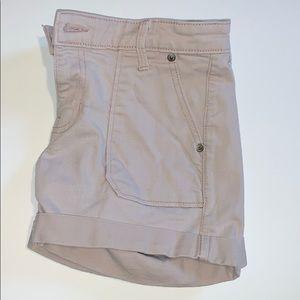 Gap pale pink Girlfriend jean Shorts